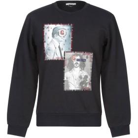 《セール開催中》GREY DANIELE ALESSANDRINI メンズ スウェットシャツ ブラック S コットン 100% / ポリウレタン