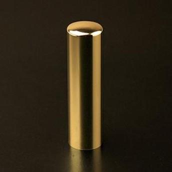 会社法人印 プレミアムチタン印鑑 プレミアムゴールド(寸胴タイプ) 16.5mm