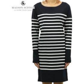メゾンスコッチ MAISON SCOTCH 正規販売店 レディース ワンピース BRETON STRIPED SWEAT DRESS DC 140908 20 41309 COMBO D