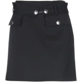 《送料無料》ALBERTA FERRETTI レディース ひざ丈スカート ブラック 46 バージンウール 96% / 指定外繊維 4%