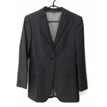 ユナイテッドアローズ UNITED ARROWS スカートスーツ サイズ36 S レディース 美品 ダークグレー【中古】