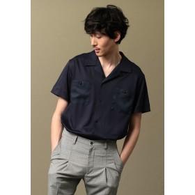 LOVELESS 【LF】MEN カットソーポンチオープンカラーシャツ シャツ・ブラウス,ネイビー1