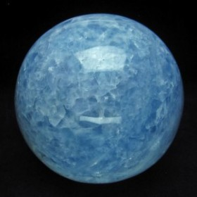 1.8Kg ブルーカルサイト 丸玉 スフィア 110mm [送料無料] 151-1144