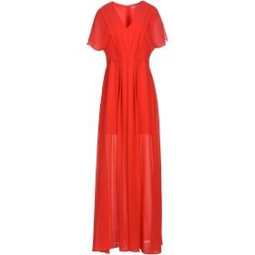 《セール開催中》HOPE COLLECTION レディース ロングワンピース&ドレス レッド L ポリエステル 100%