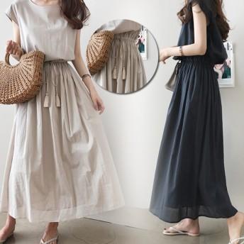 本日限定。 2019韓国ファッション 夏のシャツワンピース ボディラインがキレイに見える美シルエットフレアワンピ