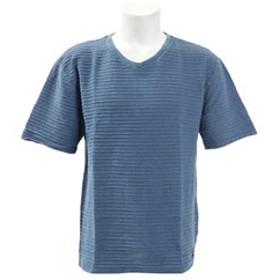 【Super Sports XEBIO & mall店:トップス】【ゼビオ限定】 Vネック半袖Tシャツ TVNK-19SRL BLU