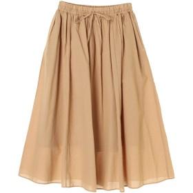 【6,000円(税込)以上のお買物で全国送料無料。】綿麻ロングスカート