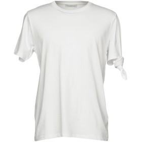 《期間限定セール開催中!》J.W.ANDERSON メンズ T シャツ ホワイト S コットン 100%
