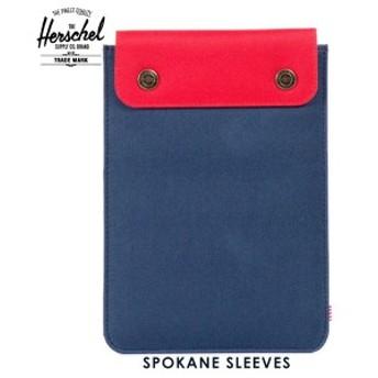 ハーシェル Herschel iPad Mini ケース Spokane Sleeve for iPad Mini Sleeves 10191-00018-OS Navy/Red