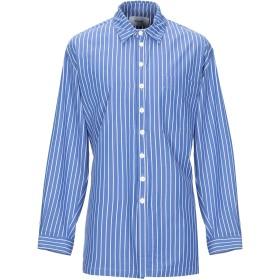 《期間限定セール開催中!》BONSAI メンズ シャツ ブルー S コットン 100%
