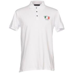 《セール開催中》TRUSSARDI JEANS メンズ ポロシャツ ホワイト XS コットン 100%