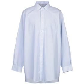 《期間限定セール開催中!》BROOKS BROTHERS メンズ シャツ アジュールブルー 15 スーピマ 100%
