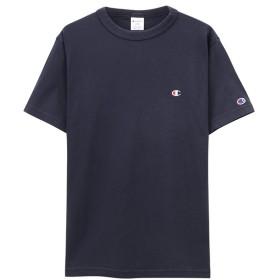 【35%OFF】 マックハウス Champion チャンピオン プリントTシャツ C3 P300 メンズ ネイビー S 【MAC HOUSE】 【タイムセール開催中】