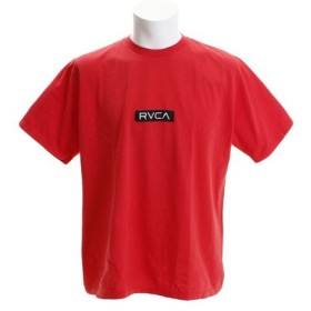 RVCA PATCH RVCA 半袖Tシャツ AJ041231 RED (Men's)