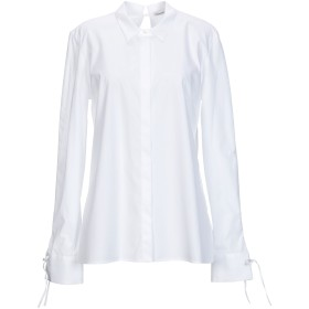 《セール開催中》STEFANO MORTARI レディース シャツ ホワイト 44 コットン 100%
