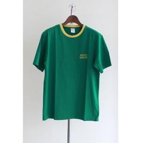 WACKOMARIA(ワコマリア) RINGER T-SHIRT ( TYPE-4 ) Tシャツ GREEN
