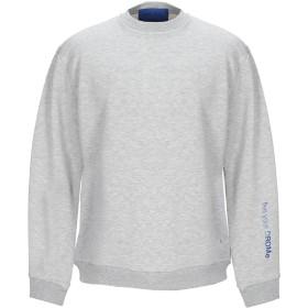 《期間限定セール開催中!》DROMe メンズ スウェットシャツ ライトグレー S コットン 65% / ポリエーテル 35%
