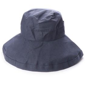 スカラ SCALA レディースUVカット帽子LC399R GIANA BOW (デニム)