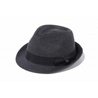 NEW ERA ニューエラ トリルビー グログランバンド ブラックペーパーロープ 中折れハット ハット 帽子 メンズ レディース X-Large 61cm 11901011 NEWERA