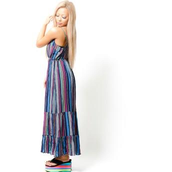 ワンピース - babyshoop B系 レディース ファッション ストリート ダンス エスニックマキシ丈ワンピース