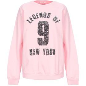 《セール開催中》PEPPER & MINT London レディース スウェットシャツ ライトピンク L コットン 100%