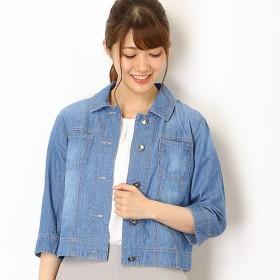 [マルイ]【セール】4.5OZデニムジャケット/ミキシングブルー(Mixing blue)