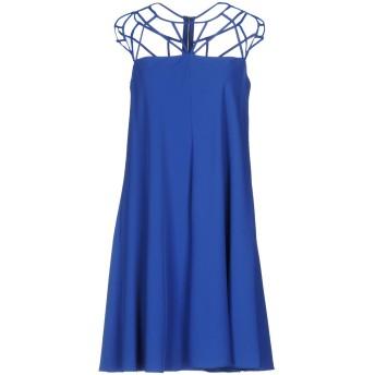 《セール開催中》MANGANO レディース ミニワンピース&ドレス ブルー 46 100% ポリエステル