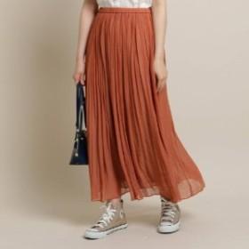 揚柳シフォンスカート