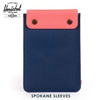 ハーシェル Herschel iPad Mini ケース Spokane Sleeve for iPad Mini Sleeves 10191-00610-OS Navy/Flamingo