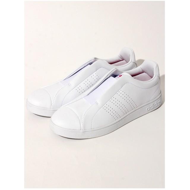 Sneakers Selection VALCLEANADPTW【バルクリーンADPTWDB0125】 ホワイト/ピンク