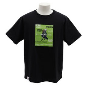 【Super Sports XEBIO & mall店:トップス】はたけカカシTシャツ 9523156-01BLK