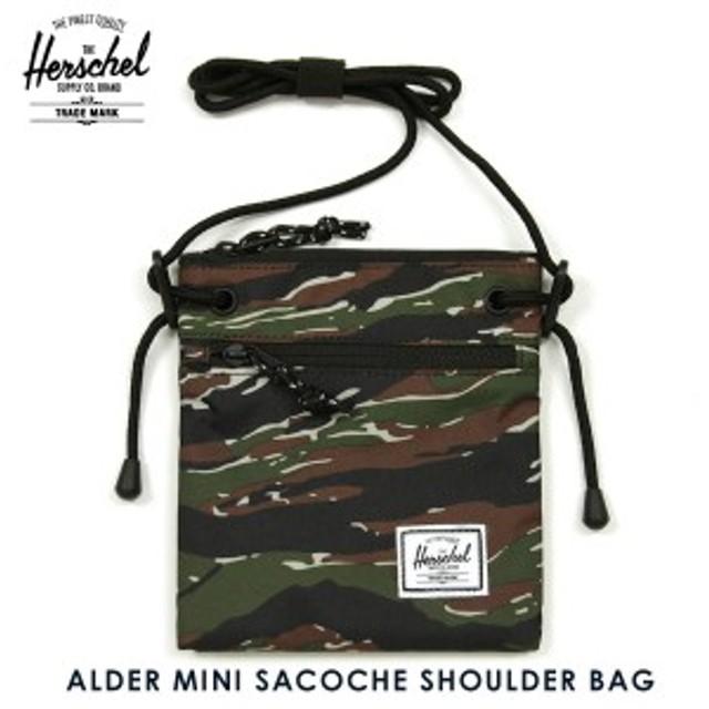ハーシェル サプライ Herschel Supply 正規販売店 鞄 ショルダーバッグ サコッシュ ALDER MINI SACOCHE SHOULDER BAG MN-05-TCM CAMO