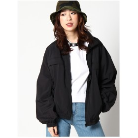 X-girl COLORBLOCKZIPUPJACKET BLACK