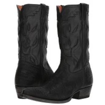 フライ メンズ ブーツ&レインブーツ シューズ Cheyenne 11L Black Multi Cut Vintage Leather/Full Grain Brush-off