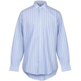 《期間限定 セール開催中》BROOKS BROTHERS メンズ シャツ スカイブルー 14 スーピマ 100%