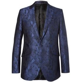 《期間限定 セール開催中》FAVOURBROOK メンズ テーラードジャケット ブルー 36 コットン 52% / シルク 48%