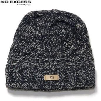 ノーエクセス NO EXCESS 正規品 メンズ ニットキャップ CABLE KNIT CAP 950912 78 NAVY 10P13Jun14