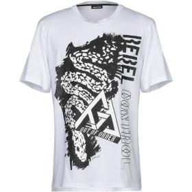 《セール開催中》JUST CAVALLI メンズ T シャツ ホワイト XS コットン 100%