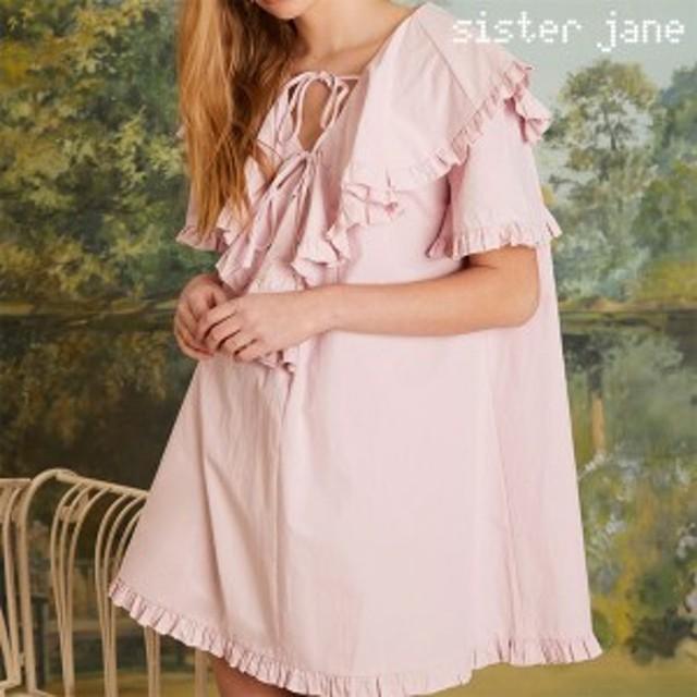 【SALE50%OFF】シスタージェーン SISTER JANE 通販 Little Bulb Smock Dress リトルバルブスモックドレス レディース ワンピース ドレス