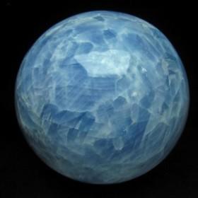 5.2Kg ブルーカルサイト 丸玉 スフィア 160mm [送料無料] 161-147