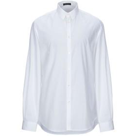 《セール開催中》VERSACE メンズ シャツ ホワイト 39 コットン 100%