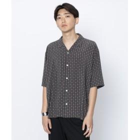 [マルイ]【セール】メンズシャツ(コモンガラシャツ(5分袖))/センスオブプレイスバイアーバンリサーチ(メンズ)(SENSE OF PLACE )