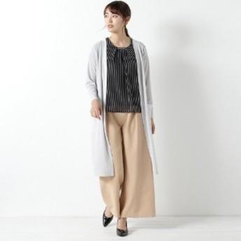 ロングトッパーカーディガン【M~4L】