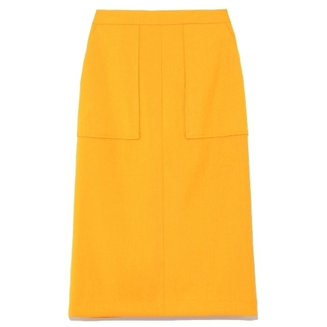 FRAY I.D ドライオックスタイトスカート オレンジ