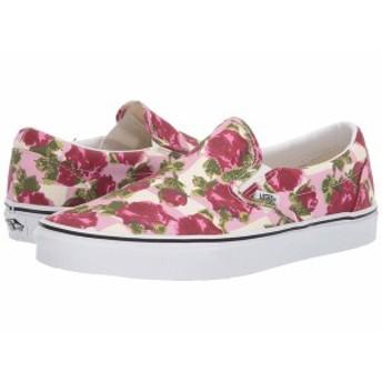 バンズ メンズ スニーカー シューズ Classic Slip-On (Romantic Floral) Multi/True White