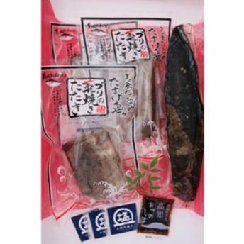 逸品☆藁の香ばしさ!ブリ・カツオ藁焼きたたき食べ比べセット