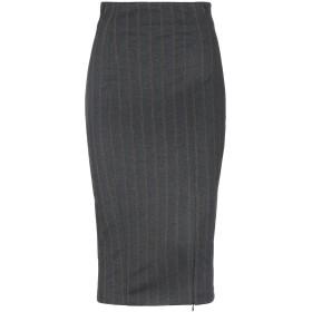 《期間限定 セール開催中》LANACAPRINA レディース 7分丈スカート 鉛色 42 レーヨン 65% / ポリエステル 30% / ポリウレタン 5%