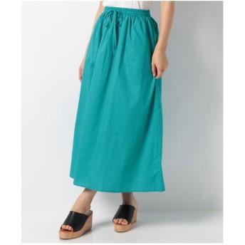 koe 60ローンマキシスカート(ブルー)【返品不可商品】