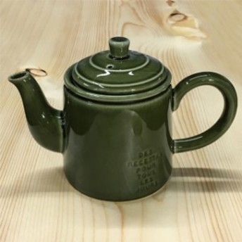 キャトルルパ ポット グリーン スタジオM Quatre repas Pot Green Studio M ティーポット 急須