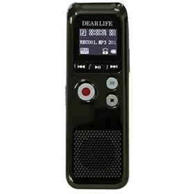 FMラジオ付き多機能ボイスレコーダー DEARLIFE レックマン 8GB内蔵 2300時間録音 ワイドFM DVR-700 ◆宅